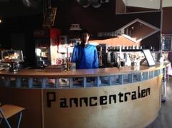 Panncentralen reception